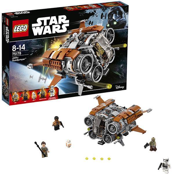 Конструктор LEGO Star Wars (арт. 75178) «Квадджампер Джакку»