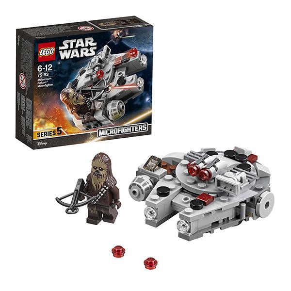Конструктор LEGO Star Wars (арт. 75193) «Микрофайтер Сокол Тысячелетия»