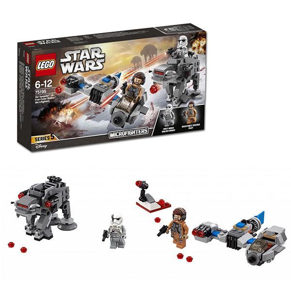 Конструктор LEGO Star Wars (арт. 75195) «Бой пехотинцев Первого Ордена против спидера»