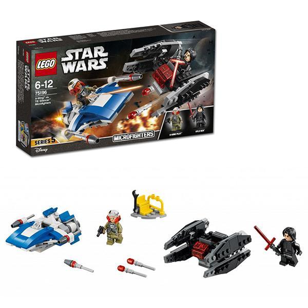 Конструктор LEGO Star Wars (арт. 75196) «Истребитель A против бесшумного истребителя»