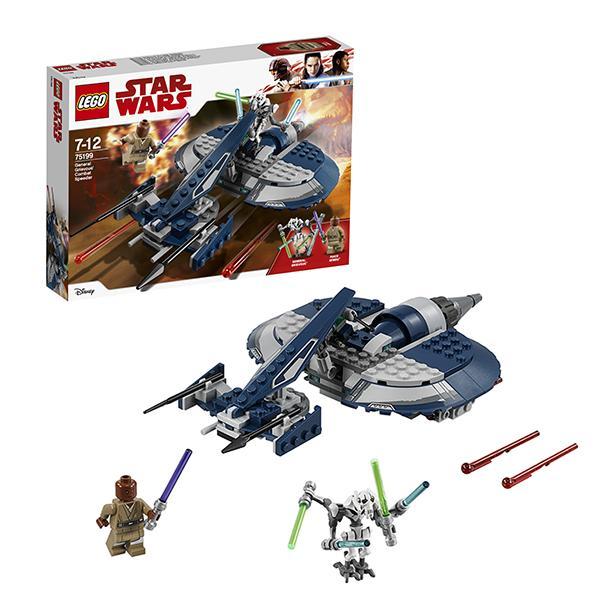 Конструктор LEGO Star Wars (арт. 75199) «Боевой спидер генерала Гривуса»