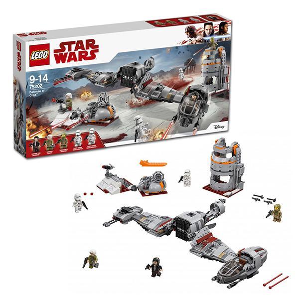 Конструктор LEGO Star Wars (арт. 75202) «Защита Крайта»