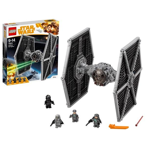 Конструктор LEGO Star Wars (арт. 75211) «Имперский истребитель СИД»