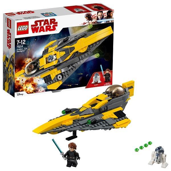 Конструктор LEGO Star Wars (арт. 75214) «Звёздный истребитель Энакина»