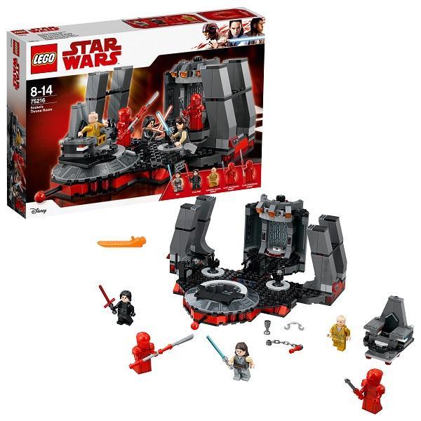 Конструктор LEGO Star Wars (арт. 75216) «Тронный зал Сноука»