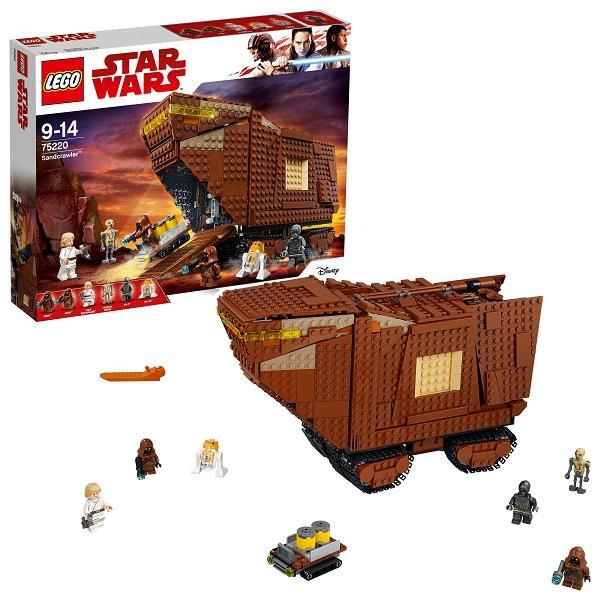 Конструктор LEGO Star Wars (арт. 75220) «Песчаный краулер»