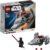 Конструктор LEGO Star Wars (арт. 75224) «Микрофайтеры: Корабль-лазутчик ситхов»