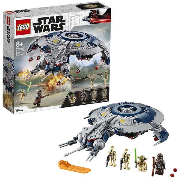 Конструктор LEGO Star Wars (арт. 75233) «Дроид-истребитель»