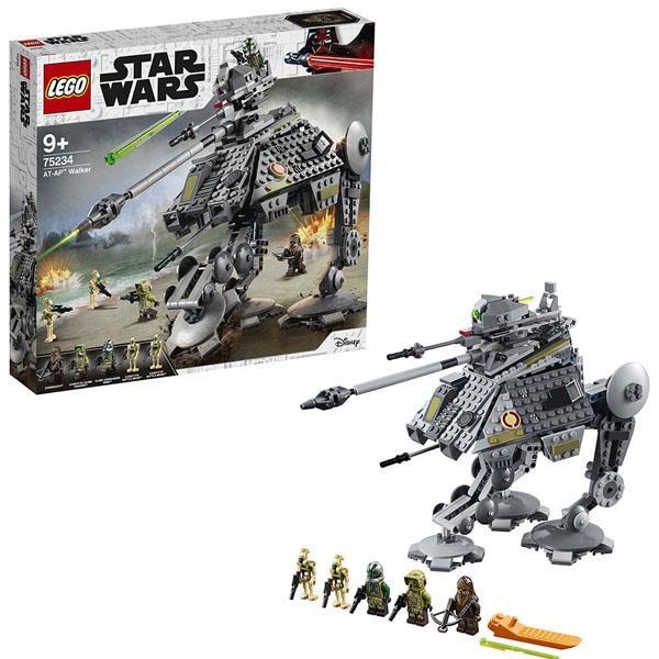 Конструктор LEGO Star Wars (арт. 75234) «Шагающий танк АТ-AP»