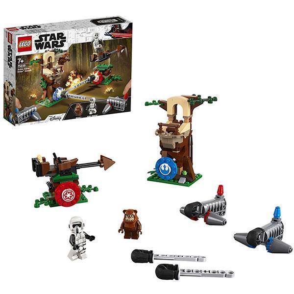 Конструктор LEGO Star Wars (арт. 75238) «Нападение на планету Эндор»