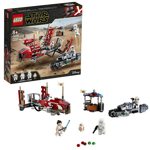 Конструктор LEGO Star Wars (арт. 75250) «Погоня на спидерах»