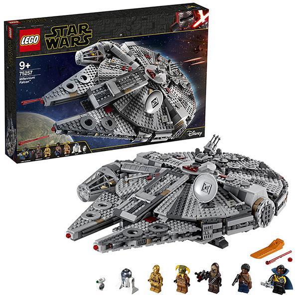 Конструктор LEGO Star Wars (арт. 75257) «Сокол Тысячелетия»