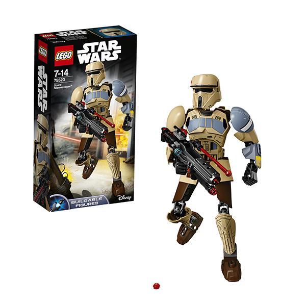Конструктор LEGO Star Wars (арт. 75523) «Штурмовик со Скарифа»