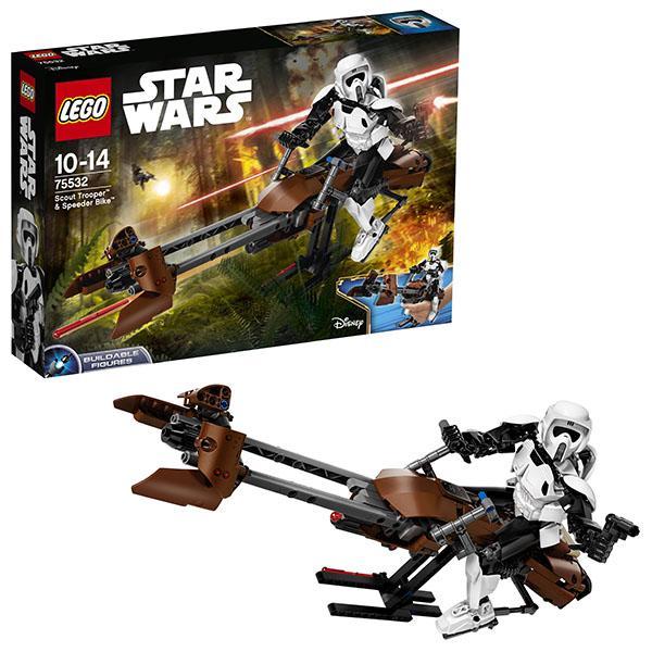 Конструктор LEGO Star Wars (арт. 75532) «Штурмовик-разведчик на спидере»