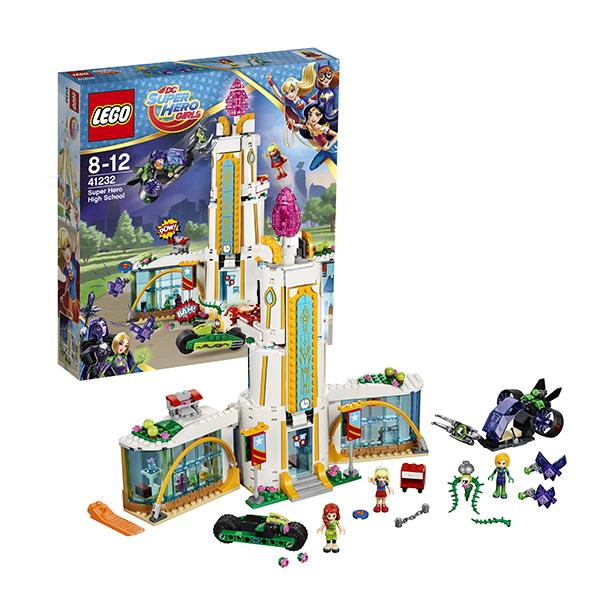 Конструктор LEGO Super Hero Girls (арт. 41232) «Школа супергероев»