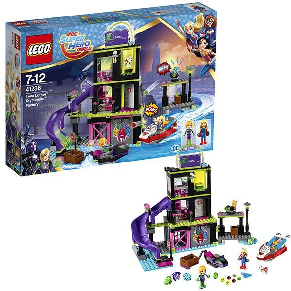 Конструктор LEGO Super Hero Girls (арт. 41238) «Фабрика Криптомитов Лены Лютор»