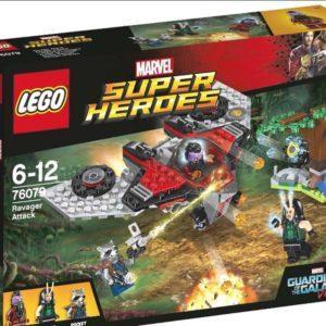 Конструктор LEGO Super Heroes (арт. 76079) «Нападение Опустошителей»