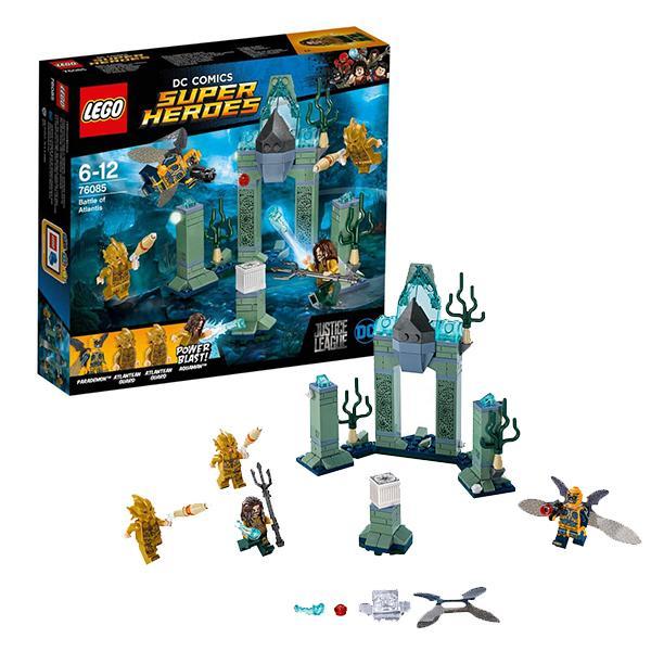 Конструктор LEGO Super Heroes (арт. 76085) «Битва за Атлантиду»