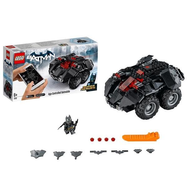 Конструктор LEGO Super Heroes (арт. 76112) «Бэтмобиль с дистанционным управлением»