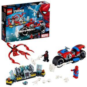 Конструктор LEGO Super Heroes (арт. 76113) «Человек-паук: Спасательная операция на мотоцикле»