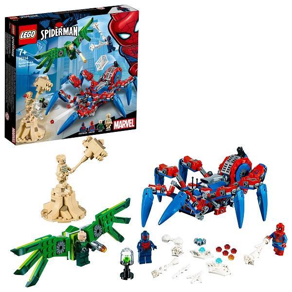 Конструктор LEGO Super Heroes (арт. 76114) «Человек-паук: Паучий вездеход»