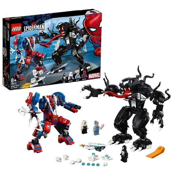 Конструктор LEGO Super Heroes (арт. 76115) «Человек-паук против Венома»