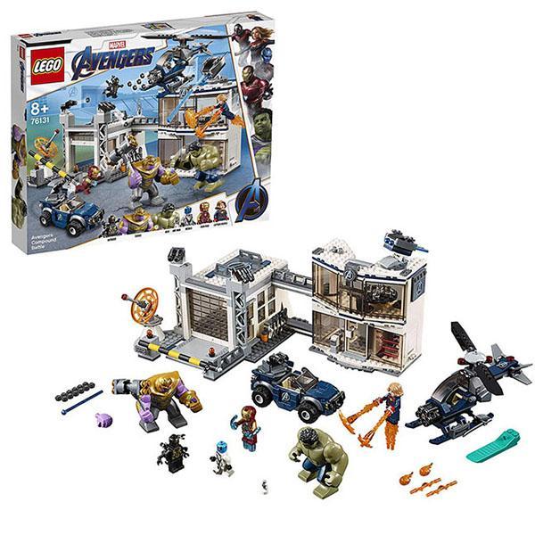 Конструктор LEGO Super Heroes (арт. 76131) «Битва на базе Мстителей»