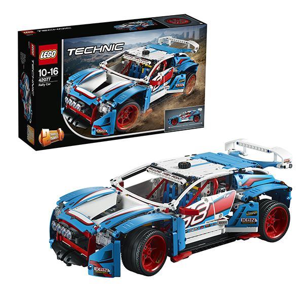 Конструктор LEGO Technic (арт. 42077) «Гоночный автомобиль»