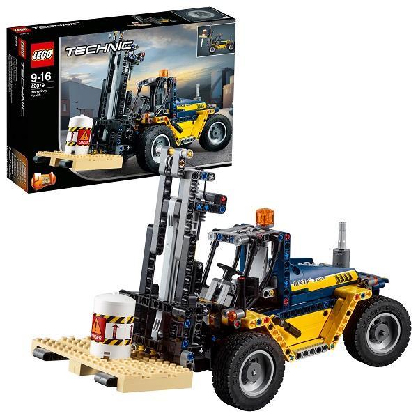 Конструктор LEGO Technic (арт. 42079) «Сверхмощный вилочный погрузчик»