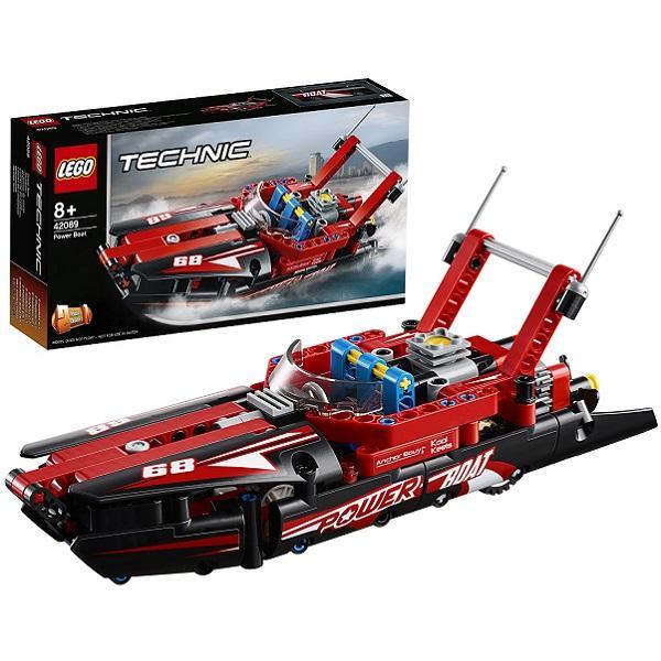 Конструктор LEGO Technic (арт. 42089) «Моторная лодка»