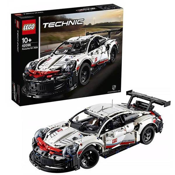 Конструктор LEGO Technic (арт. 42096) «Модель Porsche 911 RSR для гонок GT Race Car»
