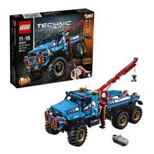 Конструктор LEGO Technic (арт. 42070) «Аварийный внедорожник 6х6»