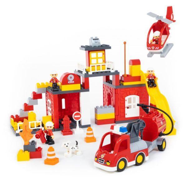 Конструктор Макси - Пожарная станция, 95 элементов