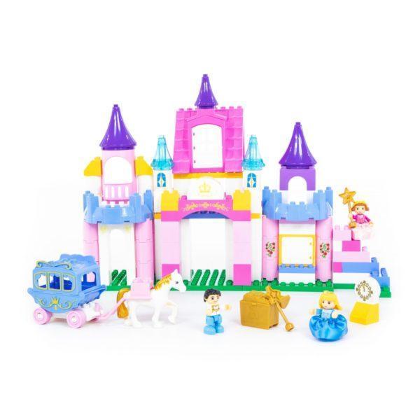 Конструктор Макси - Весёлая принцесса, 146 элементов, в коробке