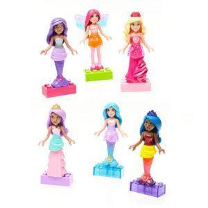 Конструктор Mega Bloks «Барби: Набор фигурок персонажей»