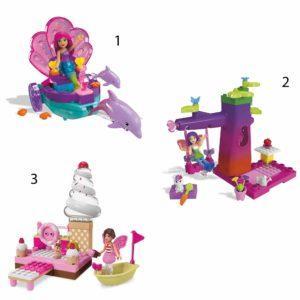 Конструктор Mega Bloks «Barbie: Сказочные игровые наборы» (40 деталей)
