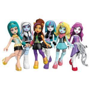 Конструктор Mega Bloks «Monster High: Базовые фигурки персонажей» (арт. CNF78)