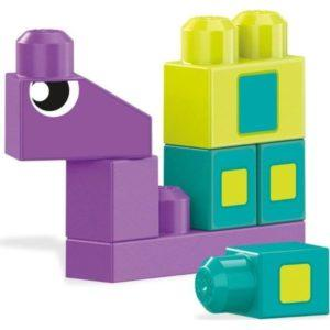 Конструктор Mega Bloks «Разные формы» (40 деталей, арт. DXH34)