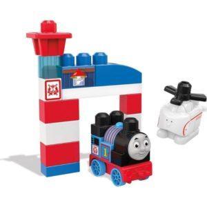 Конструктор Mega Bloks «Спасатели Томас и Гарольд» (23 детали, арт. DXH55)