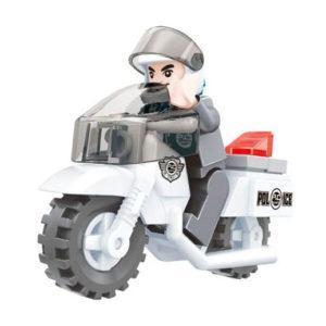 Конструктор «Патруль. Полицейский на мотоцикле» (26 деталей)