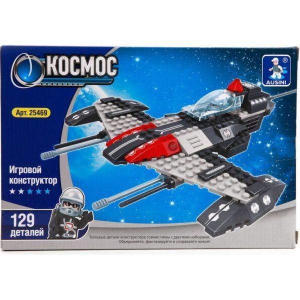 Конструктор пластиковый Ausini Космический корабль
