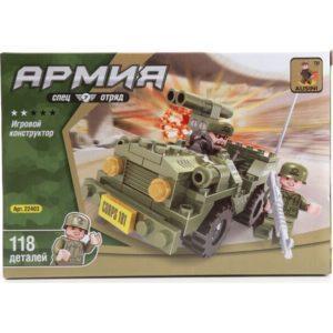 Конструктор пластиковый Ausini Военная машина