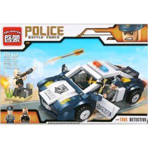 Конструктор пластиковый Enlighten Brick Полицейская машина