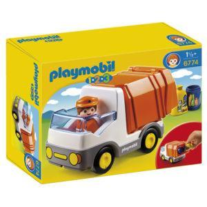 Конструктор Playmobil 1.2.3. «Мусоровоз» (арт. 6774)