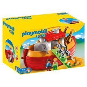 Конструктор Playmobil 1.2.3.: Ноев Ковчег, возьми с собой