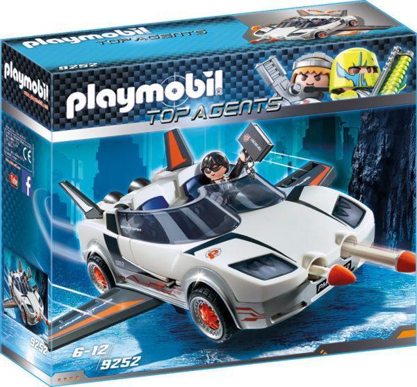Конструктор Playmobil «Агент Р. с гонщиком» (арт. 9252)