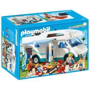 Конструктор Playmobil Аквапарк: Семейный автомобиль - дом на колесах