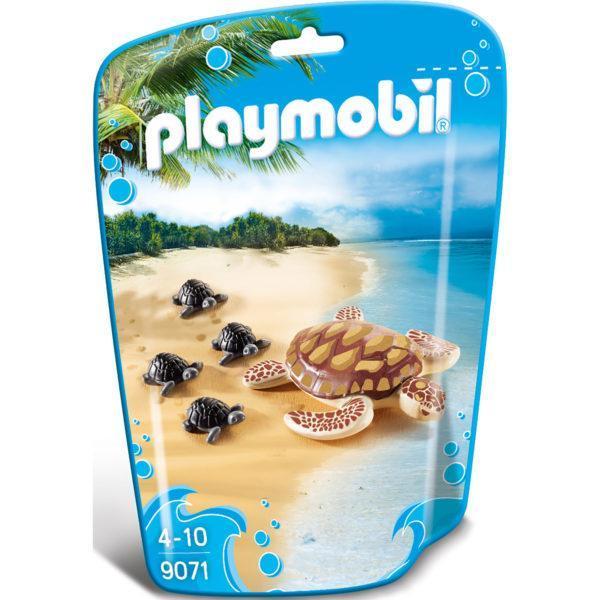 Конструктор Playmobil Аквариум: Морская черепаха с детьми