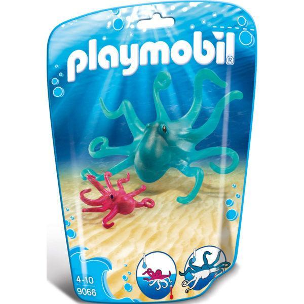 Конструктор Playmobil Аквариум: Осьминог с детенышем