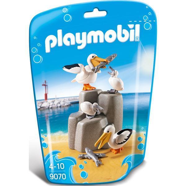 Конструктор Playmobil Аквариум: Семья пеликанов